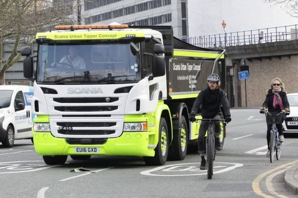 Scania Urban Tipper