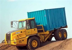 BELL B25D Container truck