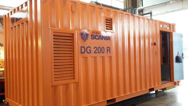 Powered by Scania